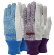 Town & Country Essentials - Gingham Gloves - Ladies Size - M